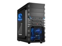 SHARKOON, VG4-W ATX Blue 2x USB3.0/2x USB2.0