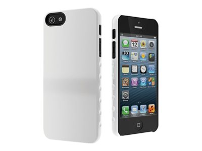Cygnett AeroGrip Form Snap-on Case Protective cover for cell phone white f