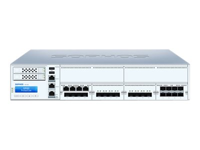 Sophos XG 550 Rev 2 security appliance with 2 years EnterpriseProtect 8 ports GigE 2U