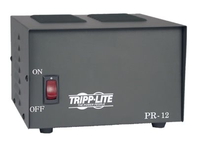 Tripp Lite DC Power Supply 12A 120VAC to 13.8VDC AC to DC Conversion TAA GSA - power adapter