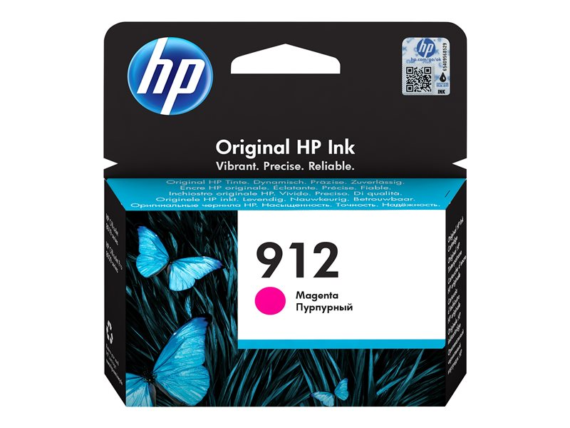 HP 912 - 2.93 ml - Magenta - Original - Tintenpatrone - für Officejet 80XX; Officejet Pro 80XX