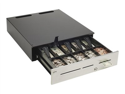 MMF Advantage Electronic cash drawer black