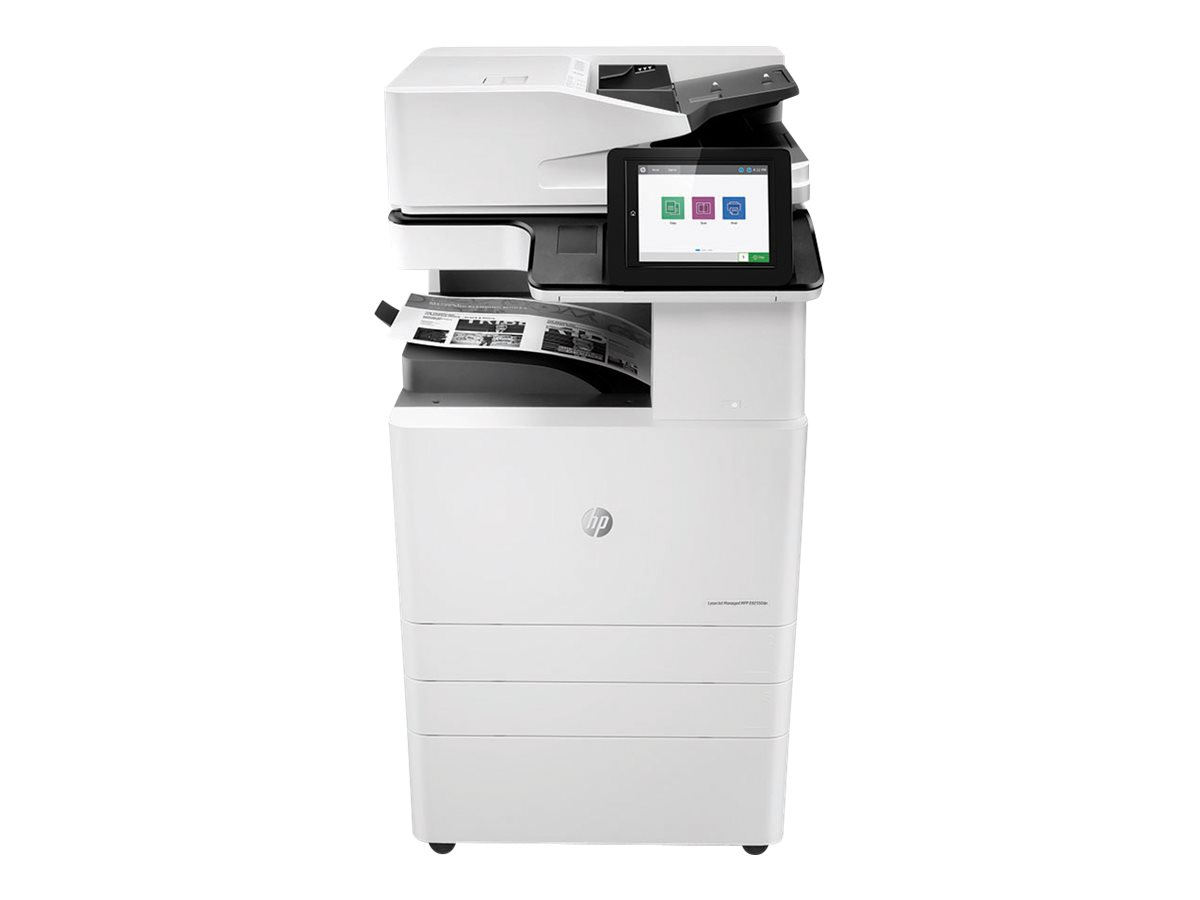Copieur LaserJet Managed MFP HP E82550dn - vitesse 50ppm vue avant