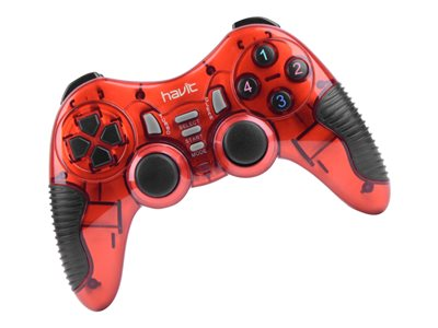 Havit Wireless Gamepad PC PS2 PS3 Red