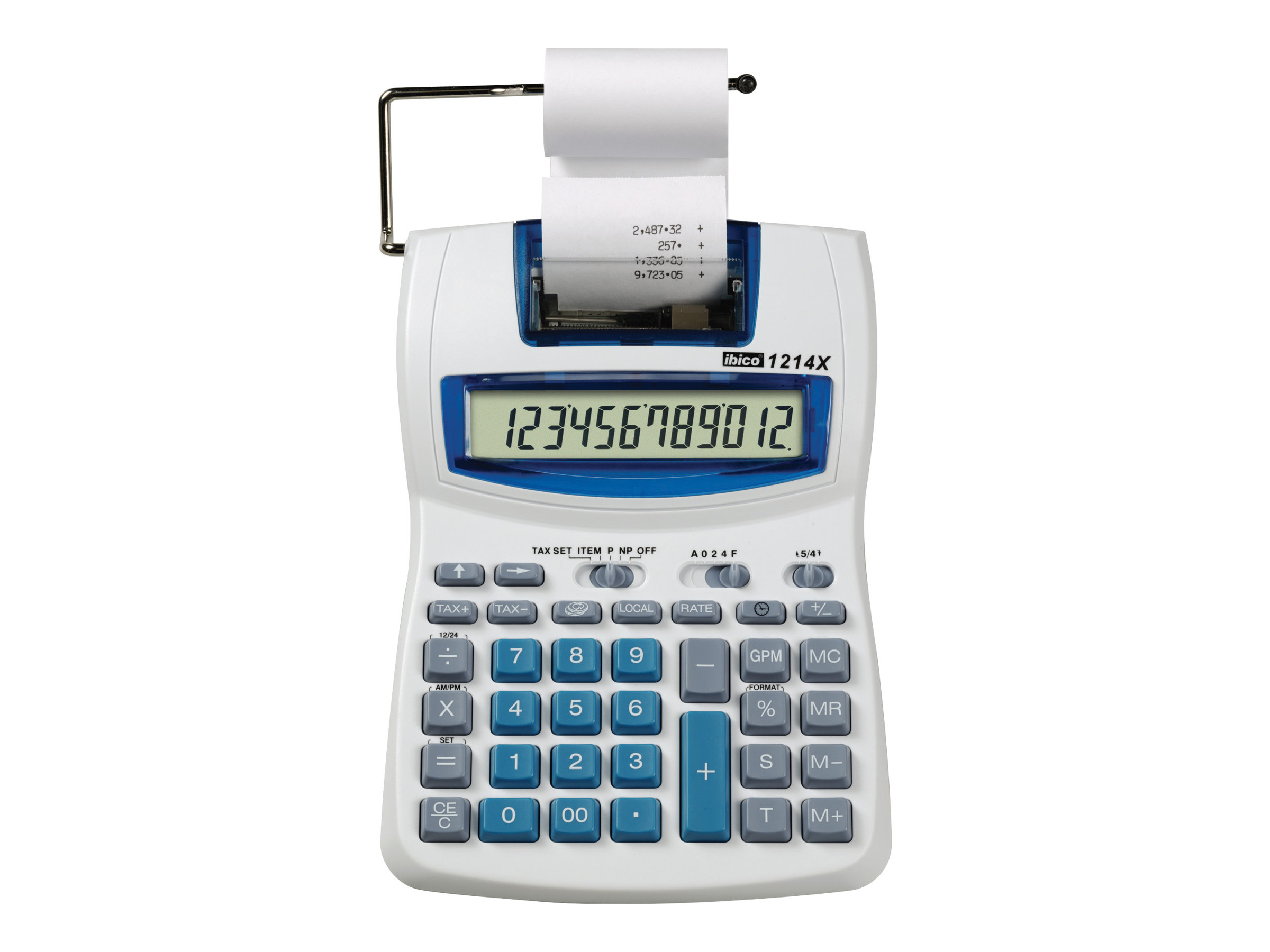 Calculatrices imprimante Rexel Ibico Semi-Professional 1214X - calculatrice avec imprimante