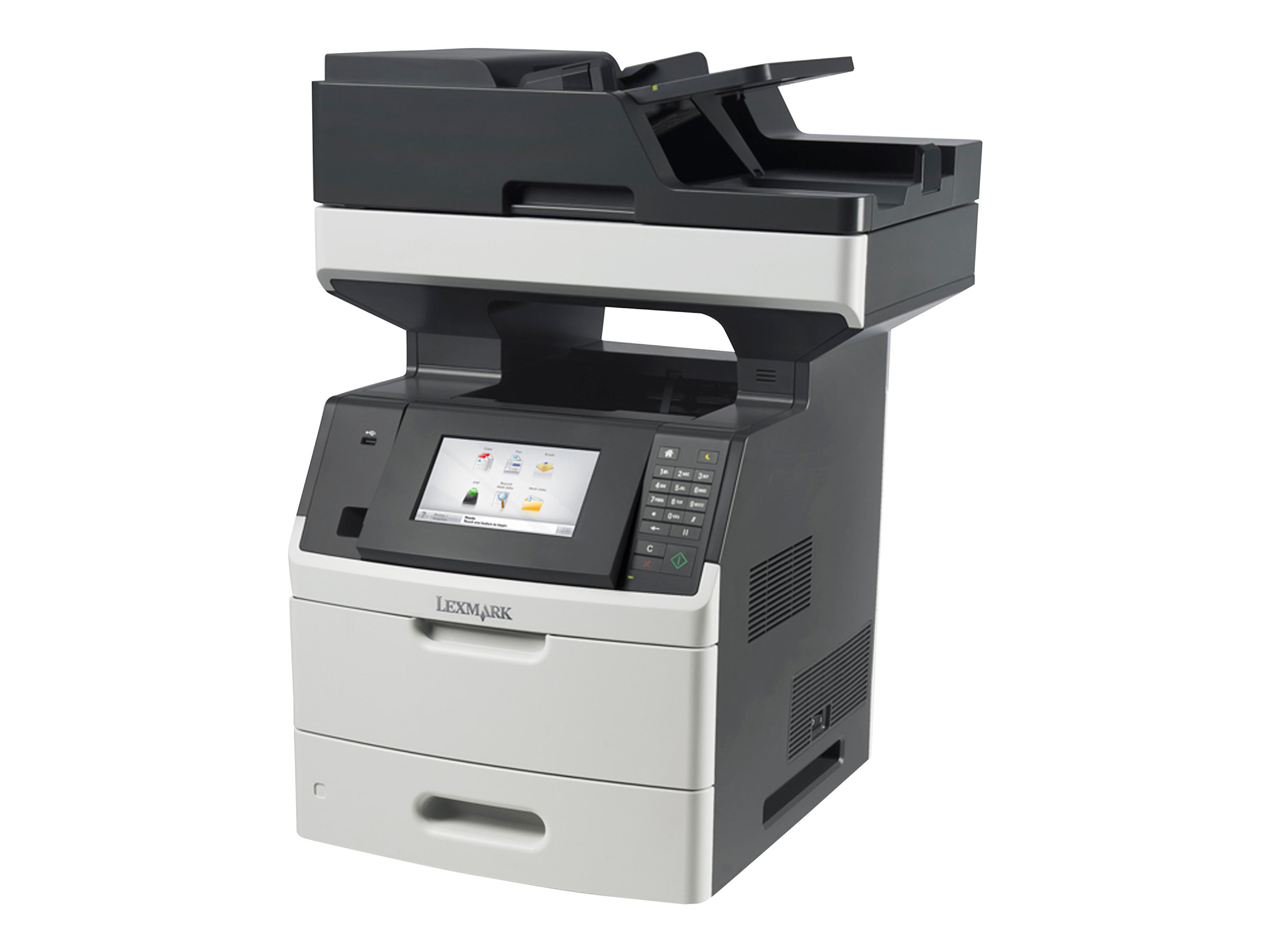 Lexmark MX710de - Multifunktionsdrucker - s/w - Laser - Legal (216 x 356 mm) (Original) - Legal (Medien)