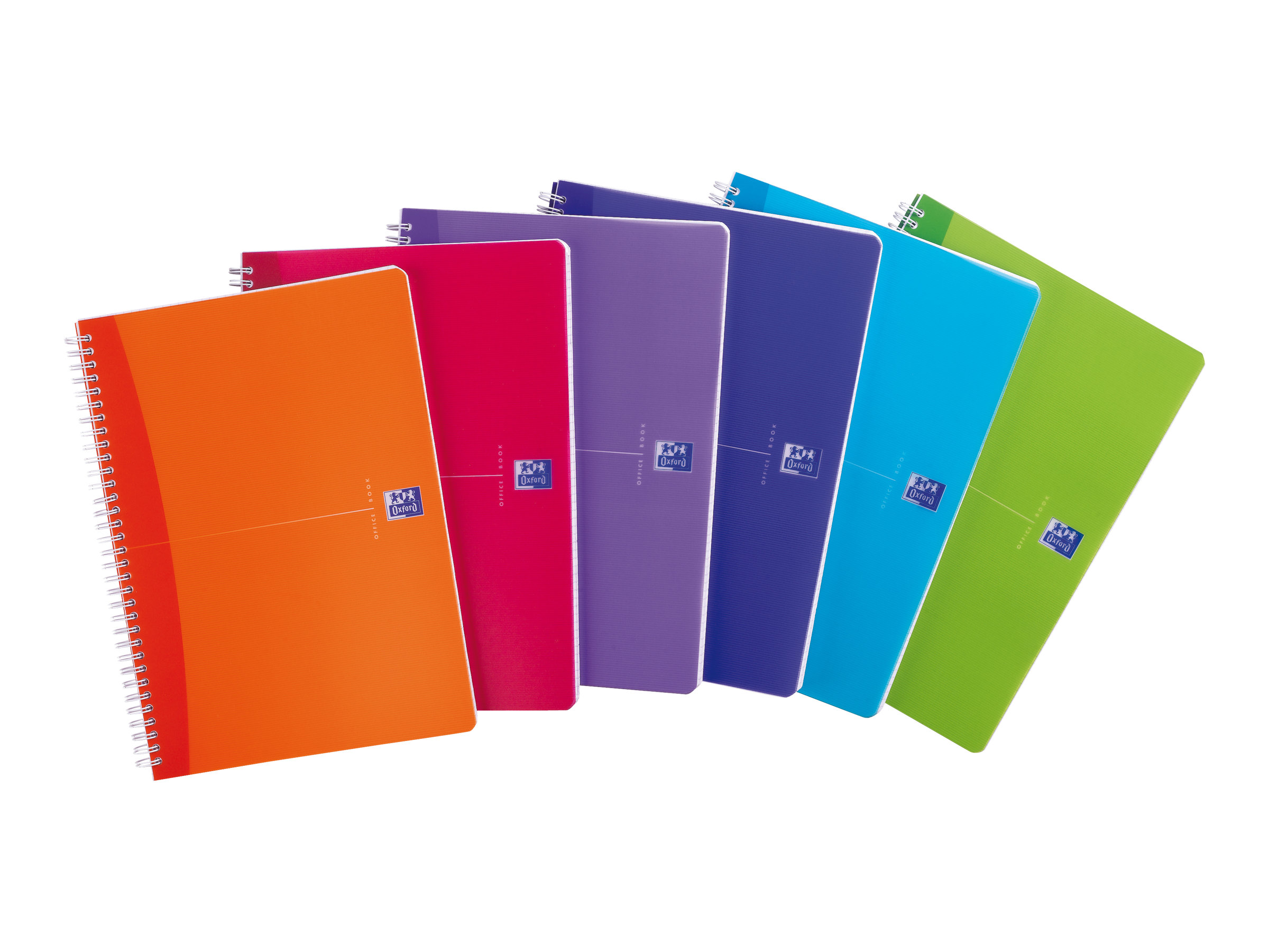 Oxford office my colours cahier polypro a4 180 pages blanc lign disponible dans - Cahier oxford office book ...
