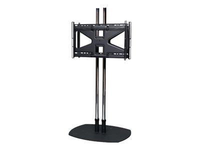Premier Mounts CS84-2MS2 Stand (2 poles, base plate, back-to-back adapter) for 2 flat panels