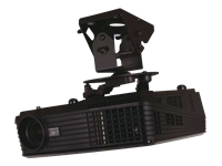 B-TECH BT899 - Ceiling mount for projector - black