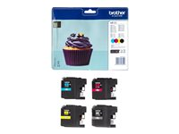 Brother LC 123 Value Pack Sort Gul Cyan Magenta