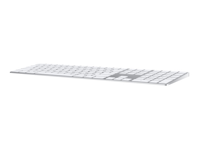 Apple Magic Keyboard with Numeric Keypad - Clavier - Bluetooth - anglais - Etats-Unis - argent
