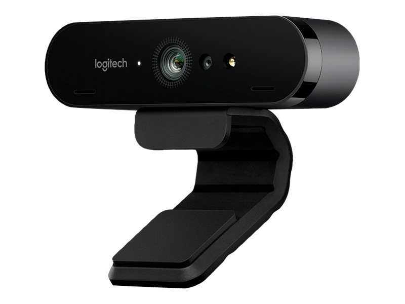 Logitech BRIO 4K Ultra HD webcam - Web-Kamera - Farbe - 4096 x 2160 - Audio - USB