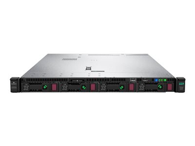 HPE ProLiant DL360 Gen10 Server rack-mountable 1U 2-way 1 x Xeon Silver 4110 / 2.1 GHz