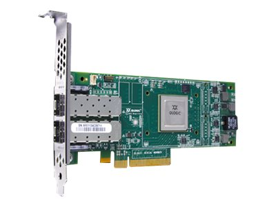 HPE StoreFabric SN1100Q 16Gb Dual Port - Hostbus-Adapter - PCIe 3.0 Low-Profile - 16Gb Fibre Channel x 2