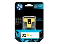 HP 02 6 ml yellow original ink cartridge