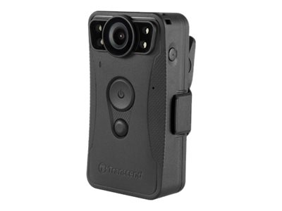 Transcend DrivePro Body 30 Camcorder 1080p / 30 fps flash 64 GB internal flash memory