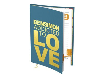 Bensimon Agenda Avec signet Addicted to Love 1 jour par page Hamelin