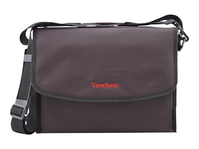 ViewSonic - Projector carrying case - matte black hairline - for ViewSonic PA502, PA505, PG603, PX701, PX703, PX727, PX748; LightStream PJD7831, PJD7836