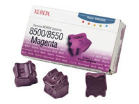 Xerox Genuine Xerox - 3 - magenta - solid inks - for Phaser 8500DN, 8500N, 8550DP, 8550DT, 8550DX