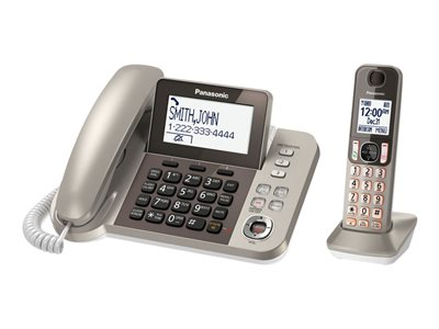 Panasonic KX-TGF350N Corded/cordless answering system with caller ID/call waiting DECT 6.0