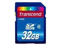 Transcend - Flash-Speicherkarte - 32 GB - Class 6 - SDHC