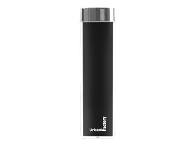 Urban Factory Power Bank Lipstick 3000 mAh Black Power bank 3000 mAh 1 A black