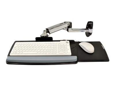 Ergotron LX Wall Mount Keyboard Arm Keyboard/mouse arm mount tray wall mountable
