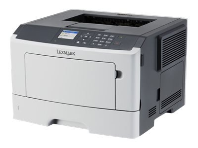 Lexmark MS415dn - Printer - monochrome - Duplex - laser - A4/Legal - 1200 x 1200 dpi - up to 38 ppm - capacity: 300 sheets - parallel, USB 2.0, Gigabit LAN