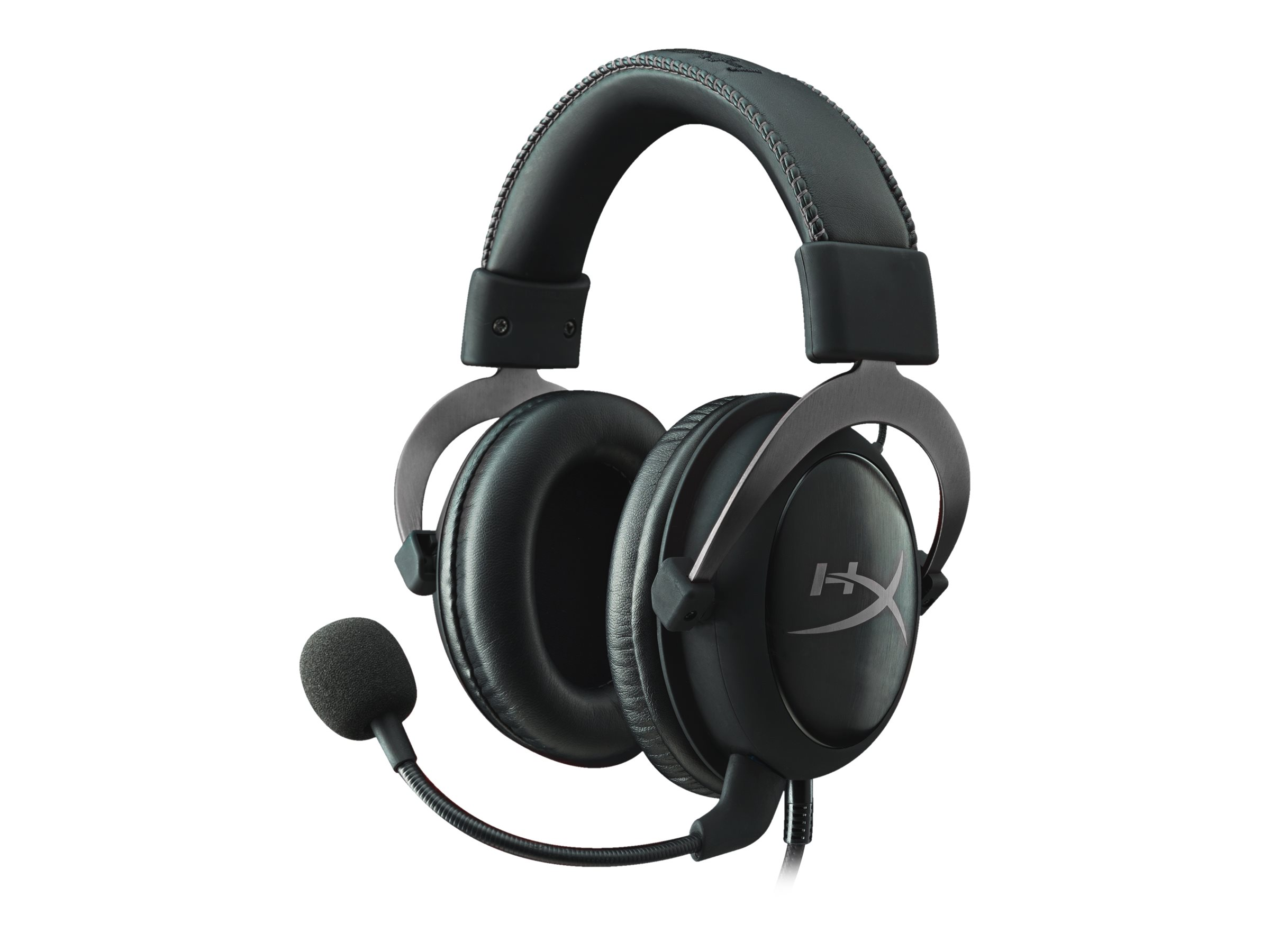 HyperX Cloud II - Headset - Full-Size - kabelgebunden - Gun Metal