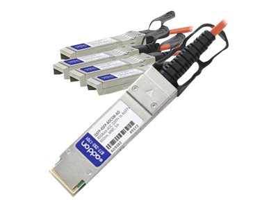 AddOn 5m Industry Standard QSFP+ Breakout AOC - 40GBase direct attach cable - 5 m