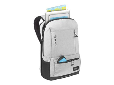 SOLO Varsity Collection Draft Backpack Notebook carrying backpack 15.6INCH gray