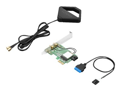 Lenovo ThinkStation AC Wi-Fi Solution Intel 8265 with External Antenna Kit Network adapter