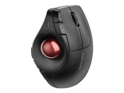 Kensington Pro Fit Ergo Vertical Wireless Trackball - trackball - Bluetooth, 2.4 GHz