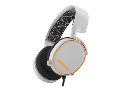 SteelSeries Arctis 5 2019 Edition headset full size wired USB, 3.5 mm jack white