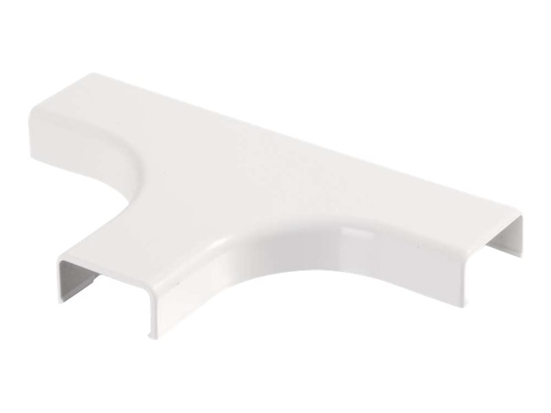 C2G Wiremold Uniduct 2800 Bend Radius Compliant Tee - White - cable raceway tee