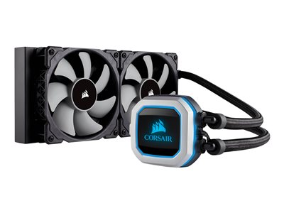 CORSAIR Hydro Series H100i PRO Liquid CPU Cooler Processors flydende kølesystem