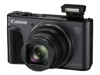 Canon PowerShot SX730 HS - Digital camera - compact - 20.3 MP - 1080p / 60 fps - 40x optical zoom - Wi-Fi, NFC, Bluetooth - black