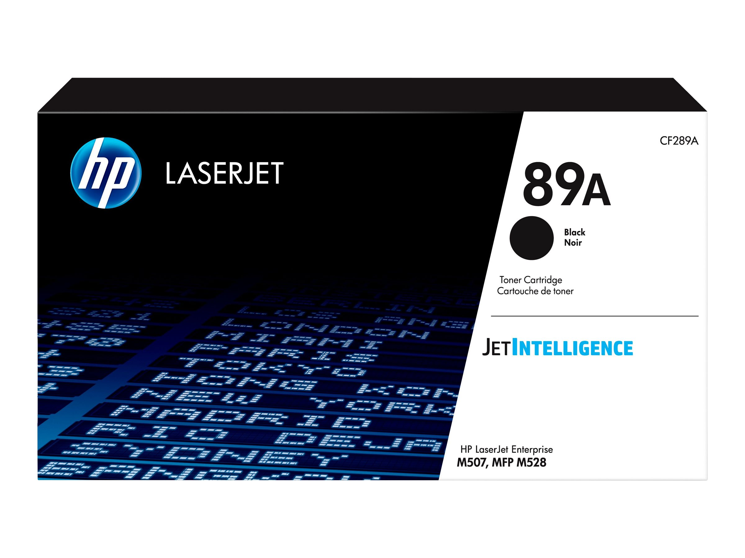 HP 89A - black - original - LaserJet - toner cartridge (CF289A)