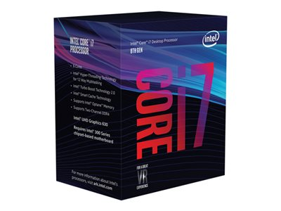 Intel CPU Core  I7-8700 3.2GHz 6 kerner LGA1151