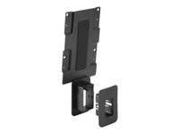 HP - Thin client to monitor mounting bracket - black - for HP t430, t530, t628, Z24; EliteDisplay E222, E232, E240; ProDesk 600 G3; Workstation Z2