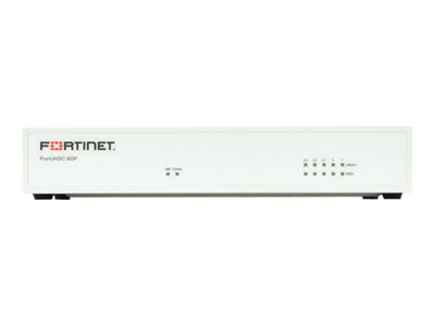 Fortinet FortiADC 60F Application accelerator GigE 1U rack-mountable