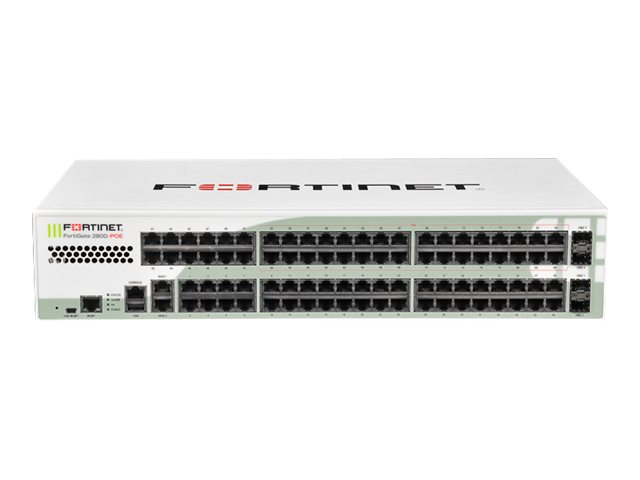 Fortinet FortiGate 280D-POE - security appliance - with 1 year FortiCare 24X7 Comprehensive Support + 1 year FortiGuard