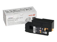 Xerox - Black - original - toner cartridge - for Phaser 6000, 6010, 6010N; WorkCentre 6015B, 6015N, 6015NI