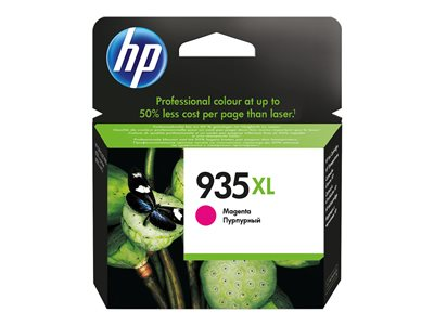 HP 935XL - High Yield - magenta - original - ink cartridge - for Officejet 6812, 6815, 6820; Officejet Pro 6230, 6230 ePrinter, 6830, 6835