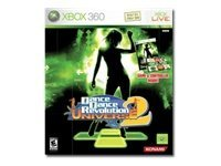 Dance Dance Revolution Universe 2 with Dance Pad Xbox 360