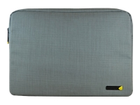 "Techair EVO - Notebook sleeve - 15.6"" - textured grey"