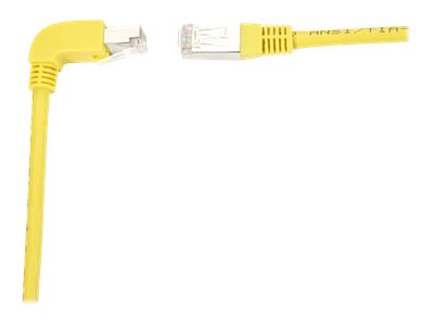 Black Box SpaceGAIN Down to Straight - patch cable - 4.5 m - yellow