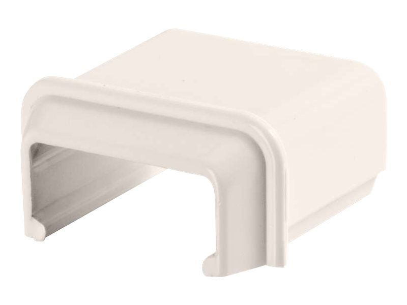 C2G Wiremold Uniduct 2800 to 2700 Reducing Connector - Fog White - cable raceway reducer