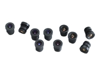 "AXIS M12 Megapixel - CCTV lens - fixed iris - 1/3"" - 8 mm - f/1.8 (pack of 10) - for AXIS 209FD, 209FD-R, 209FD-R M12, 209MFD, 209MFD-R, 209MFD-R M12, M3011, M3014"