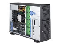 Supermicro SuperWorkstation 5049A-T Tower 4U no CPU RAM 0 GB no HDD no graphics